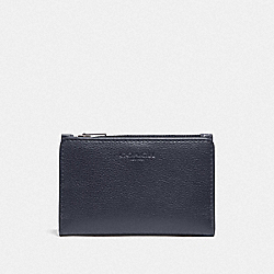 COACH F73993 - SLIM BILLFOLD CARD WALLET MIDNIGHT/BLACK ANTIQUE NICKEL