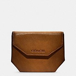COACH F74297 - BLEECKER LEATHER COIN CASE  FAWN