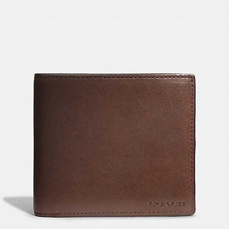 5def323862d6 ... sport calf leather black f75003 1a1e9 730d2  italy coach f74314  bleecker coin wallet in leather mahogany fawn ef2b5 5512e