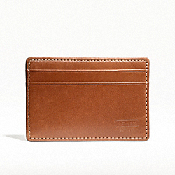 COACH F74389 Water Buffalo Slim Card Case BRITISHTAN