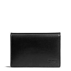 COACH F74455 Water Buffalo Topfold Id Wallet