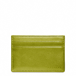 COACH F74560 Bleecker Leather Id Card Case