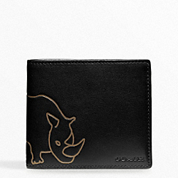 COACH F74562 Hugo Guinness Double Billfold