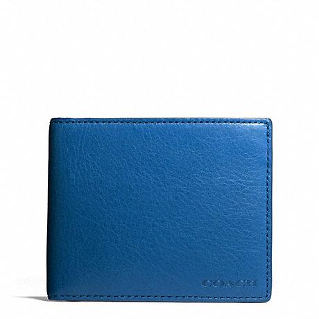 Coach F74590 Bleecker Leather Slim Billfold Id Wallet