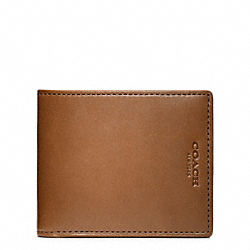 COACH F74603 Crosby Dress Leather Tuxedo Wallet DOE/VACHETTA