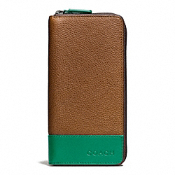 COACH F74636 Camden Leather Accordion Wallet