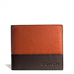 COACH F74637 Camden Leather Coin Wallet