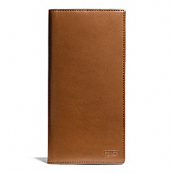 COACH F74717 Water Buffalo Slim Breast Pocket Wallet BRITISHTAN