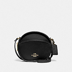 COACH F75516 - CANTEEN CROSSBODY BLACK/IMITATION GOLD