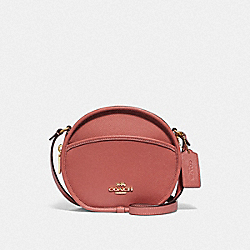 CANTEEN CROSSBODY - F75516 - ROSE PETAL/IMITATION GOLD