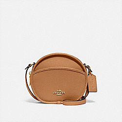 COACH F75516 Canteen Crossbody LIGHT SADDLE/IMITATION GOLD