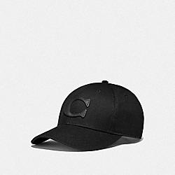COACH F75703 - VARSITY C CAP BLACK
