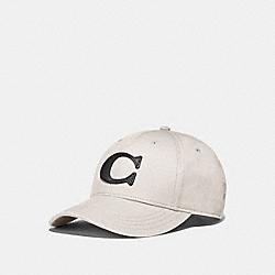 COACH F75703 - VARSITY C CAP CHALK