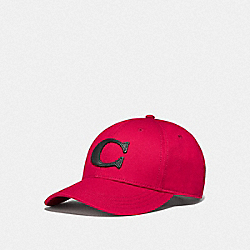 COACH F75703 - VARSITY C CAP RED
