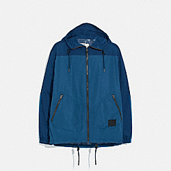COACH F75707 - RAIN REACTIVE WINDBREAKER COBALT