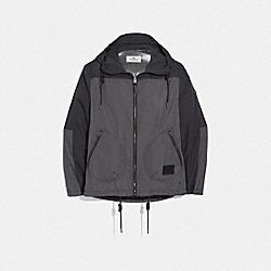 COACH F75707 - RAIN REACTIVE WINDBREAKER COAL