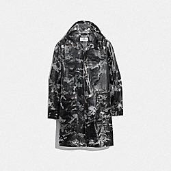 PRINTED SLICKER - F75708 - TRANSPARENT CAMO