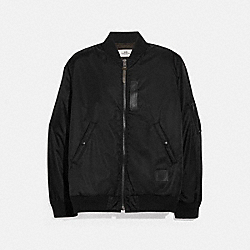 COACH F75711 Ma-1 Jacket BLACK