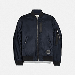 COACH F75711 Ma-1 Jacket NAVY