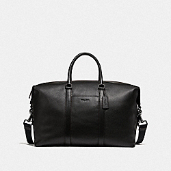COACH F75715 - TREKKER BAG BLACK/BLACK ANTIQUE NICKEL