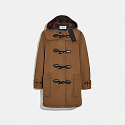 WOOL DUFFLE - F75732 - BRITISH KHAKI