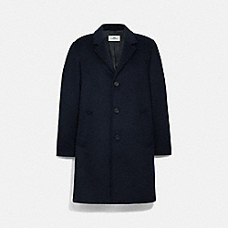 COACH F75733 Top Coat NAVY
