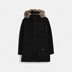 3-IN-1 PARKA WITH SHEARLING - F75765 - BLACK