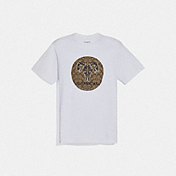 COACH F75770 Chelsea T-shirt WHITE