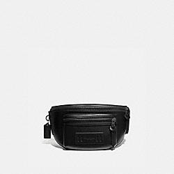 COACH F75776 - TERRAIN BELT BAG BLACK/BLACK ANTIQUE NICKEL
