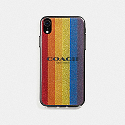 COACH F75856 Iphone Xr Case MULTICOLOR
