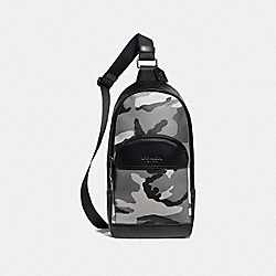 HOUSTON PACK WITH CAMO PRINT - F75879 - BLACK ANTIQUE NICKEL/BLACK MULTI