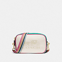 JES CONVERTIBLE BELT BAG IN COLORBLOCK - F75907 - CHALK