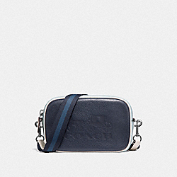 JES CONVERTIBLE BELT BAG IN COLORBLOCK - F75907 - MIDNIGHT/MULTI/SILVER