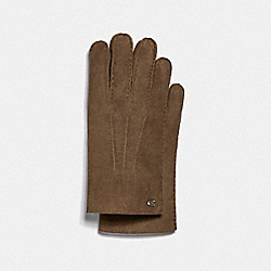 COACH F75939 - SHEARLING GLOVES TAUPE