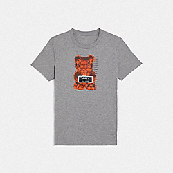 COACH F76049 Vandal Gummy T-shirt GREY