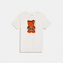 COACH F76049 - VANDAL GUMMY T-SHIRT WHITE