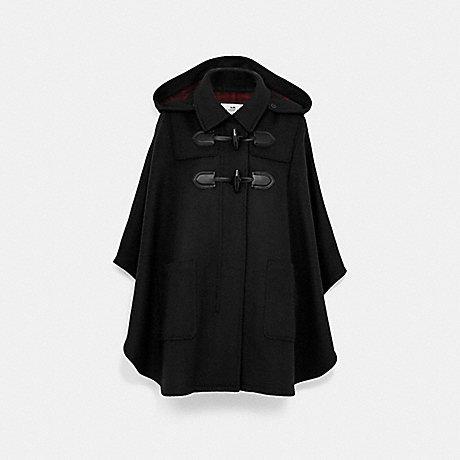 COACH F76277 DUFFLE CAPE BLACK
