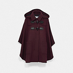 COACH F76277 - DUFFLE CAPE BURGUNDY