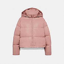 COACH F76281 - SHORT PUFFER ROSE