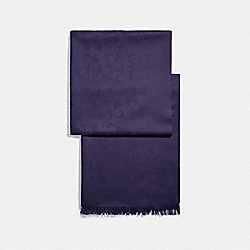 COACH F76394 - SIGNATURE WRAP DARK PURPLE