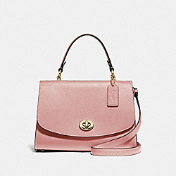 COACH F76618 Tilly Top Handle Satchel IM/PINK PETAL