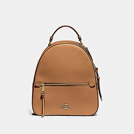 COACH F76624 JORDYN BACKPACK IM/LIGHT-SADDLE