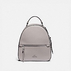 JORDYN BACKPACK - F76624 - GREY BIRCH/SILVER