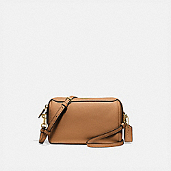 BENNETT CROSSBODY - F76629 - IM/LIGHT SADDLE