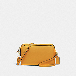 COACH F76629 - BENNETT CROSSBODY MUSTARD YELLOW/GOLD