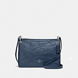 MIA CROSSBODY - F76644 - DENIM/SILVER