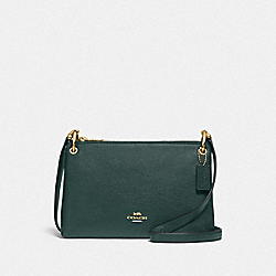 COACH F76645 Mia Crossbody IM/EVERGREEN