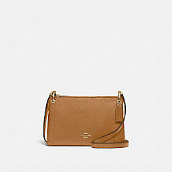 MIA CROSSBODY - F76645 - IM/LIGHT SADDLE