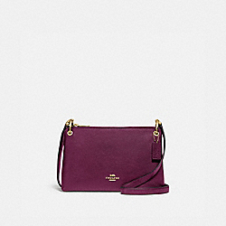 COACH F76645 - MIA CROSSBODY IM/DARK BERRY