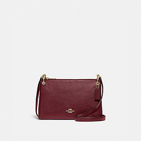 COACH F76645 MIA CROSSBODY IM/WINE